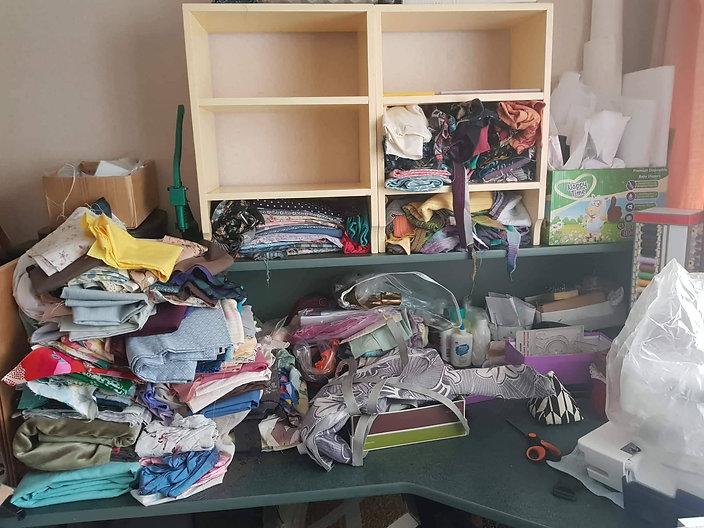 shelves before photo