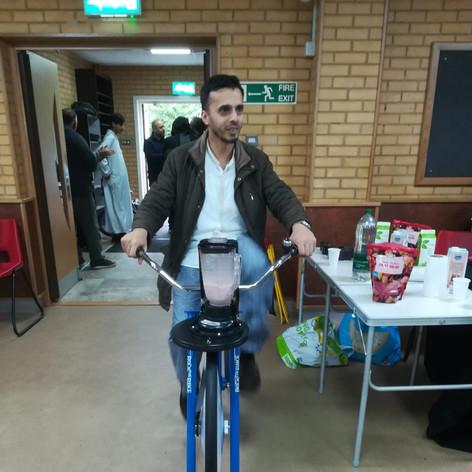 More Cycle smoothie making @ Khizra Masjid (CCF 2019)