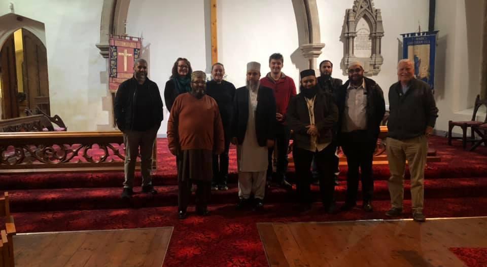 Muslim/Christian Interfaith Dialogue Group with NM Jamia Mosque