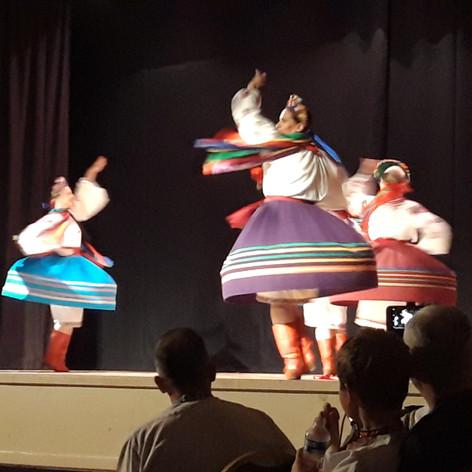 Ukrainian Dancers @ Ukrainian Cultural Centre (CCF 2019)