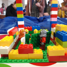 Lego Building with CHAC @ Trinity United (CCF 2019)