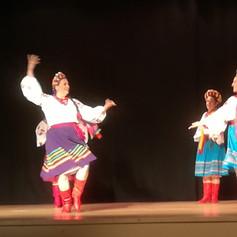 A performance of Traditional Ukrainian Dancing @ The Ukrainian Centre (CCF 2019)