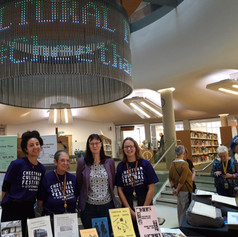 Sinead & Volunteers @ Central Library (CCF 2019)
