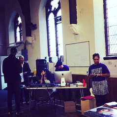 Royal Exchange Theatre's Story Recording Station @ Trinity United Church (CCF 2019)