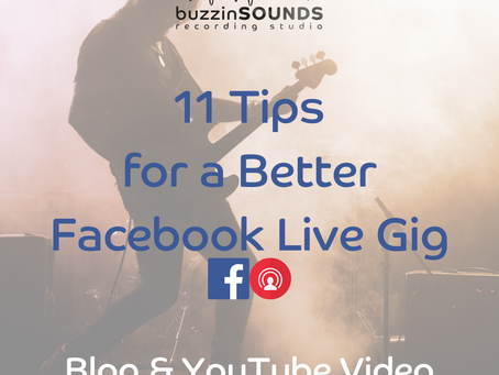 11 Tips for a Better Facebook Live Gig