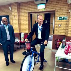 High Sheriff Mark Adlestone gets involved @ Khizra Masjid (CCF 2019)