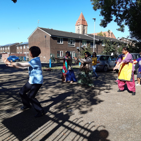 Dancing in the Street @ Welcome Centre (CCF 2019)