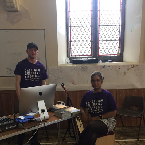 Aaron & Sabz get involved with The Royal Exchange Theatre @ Trinity United (CCF 2019)