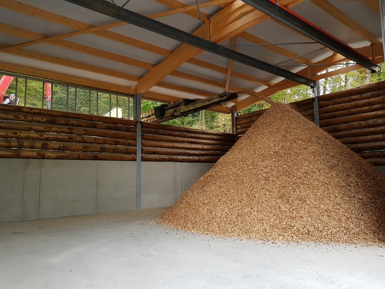 Energieholzschnitzel
