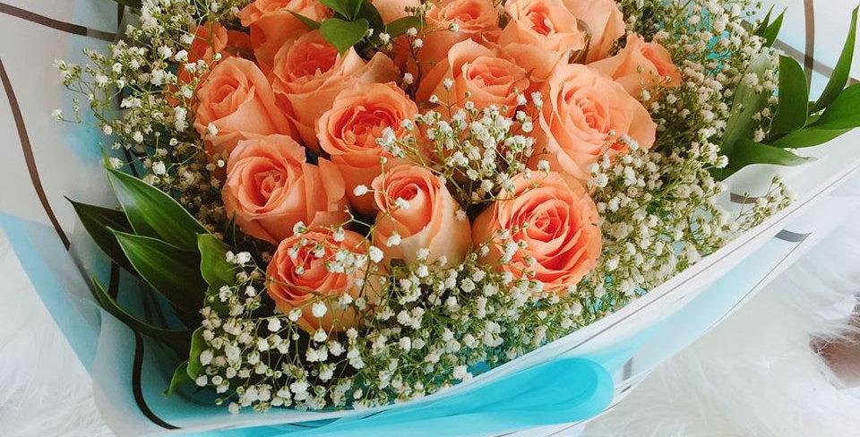 LH20-010 ORANGE ROSES