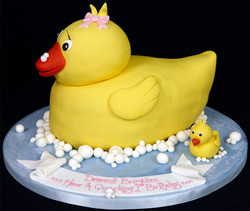 003618 Rubber Duck Style Novelty Birthday Cake