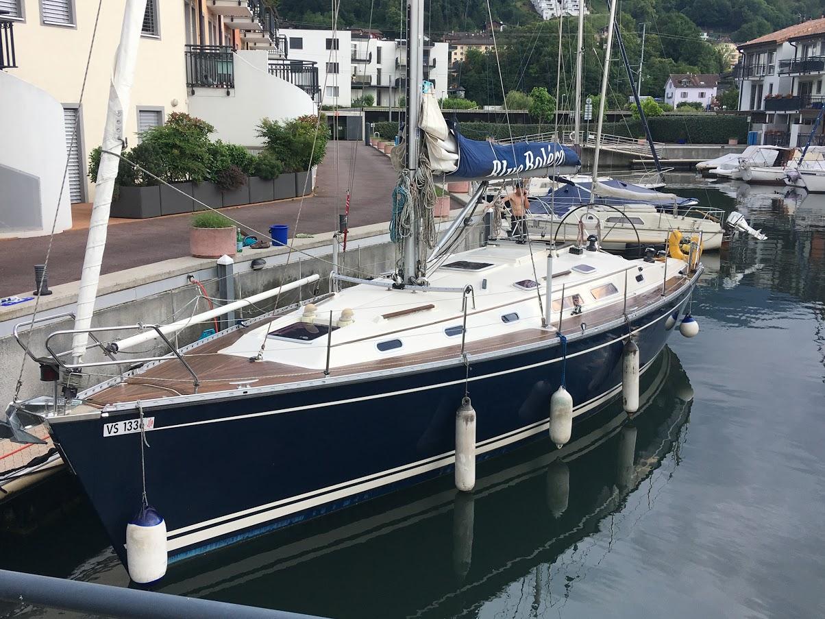 Blue Boléro à quai