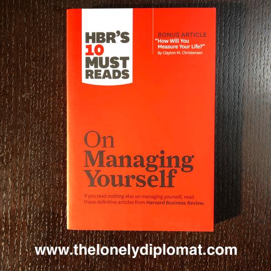 Harvard Business Review - 'Managing Yourself'