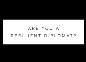 Are you a resilient diplomat?