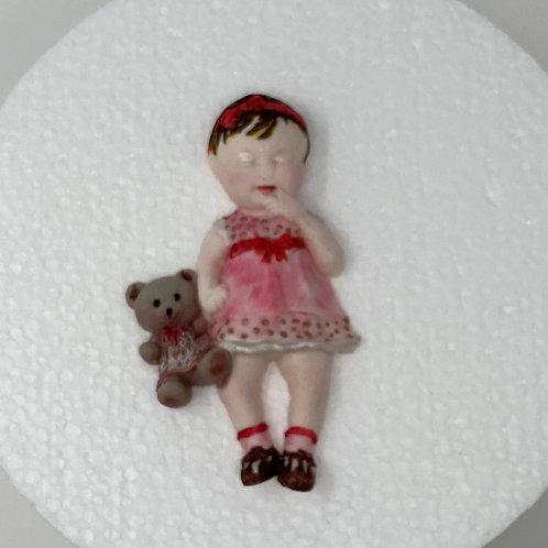 Baby Girl with TeddyBear