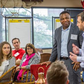 Member discussion at Three Circles Workshop