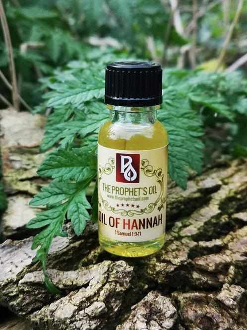 Oil of Hannah Anointing Oil