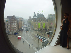 amsterdam.view from tussauds