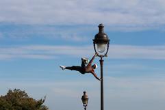 street performer.montmartre