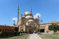 the citadel mosque of mohammed ali