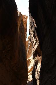 rock cut to access petra