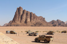 visitors centre at the wadi rum
