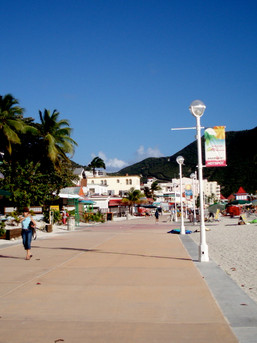 st. maarten boardwalk