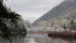 winter lake