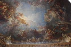 another painted ceiling