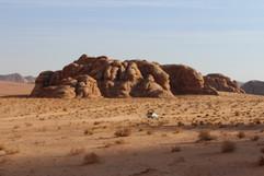 wadi rum scenery