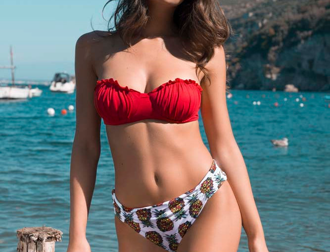 Tessa | bikini con coppa conchiglia