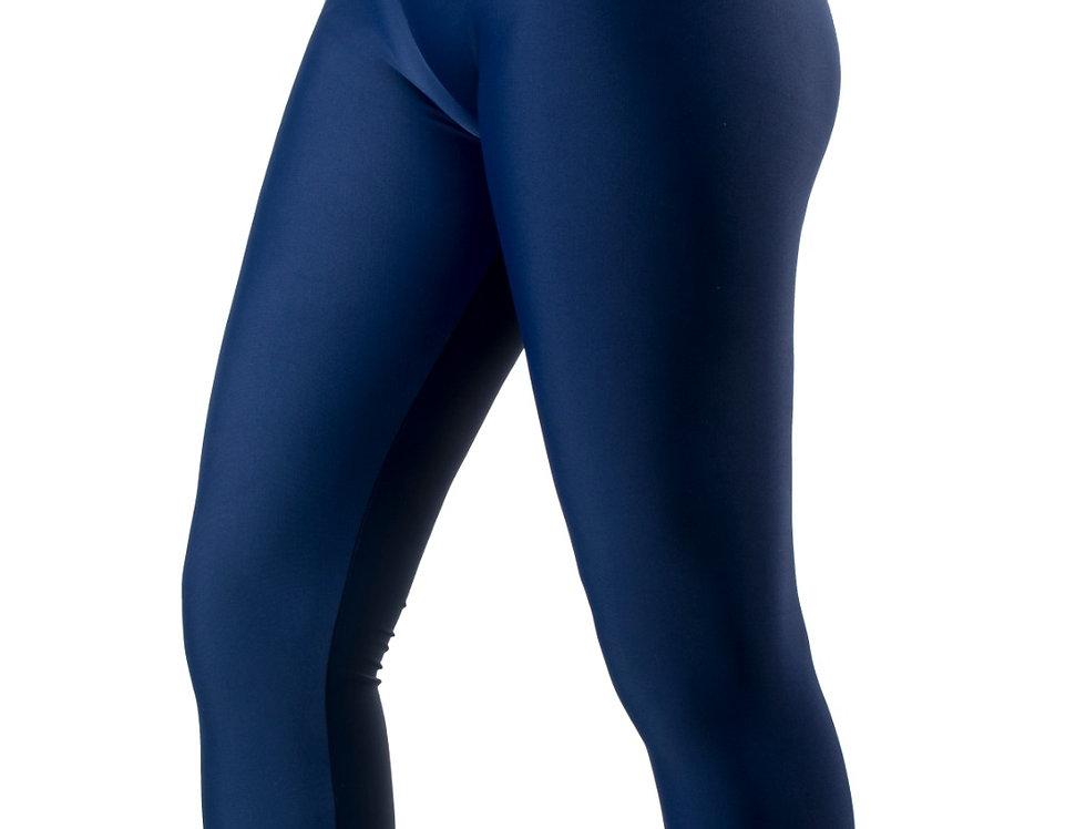 Leggings lycra blu