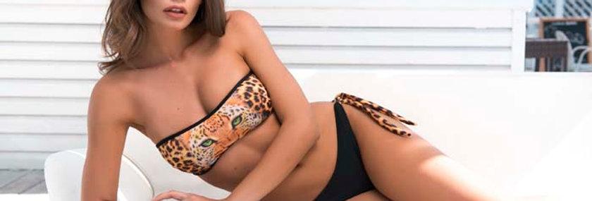 Ada | bikini con fascia