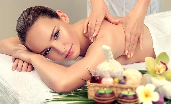 Massage and body ody care. Spa body mass