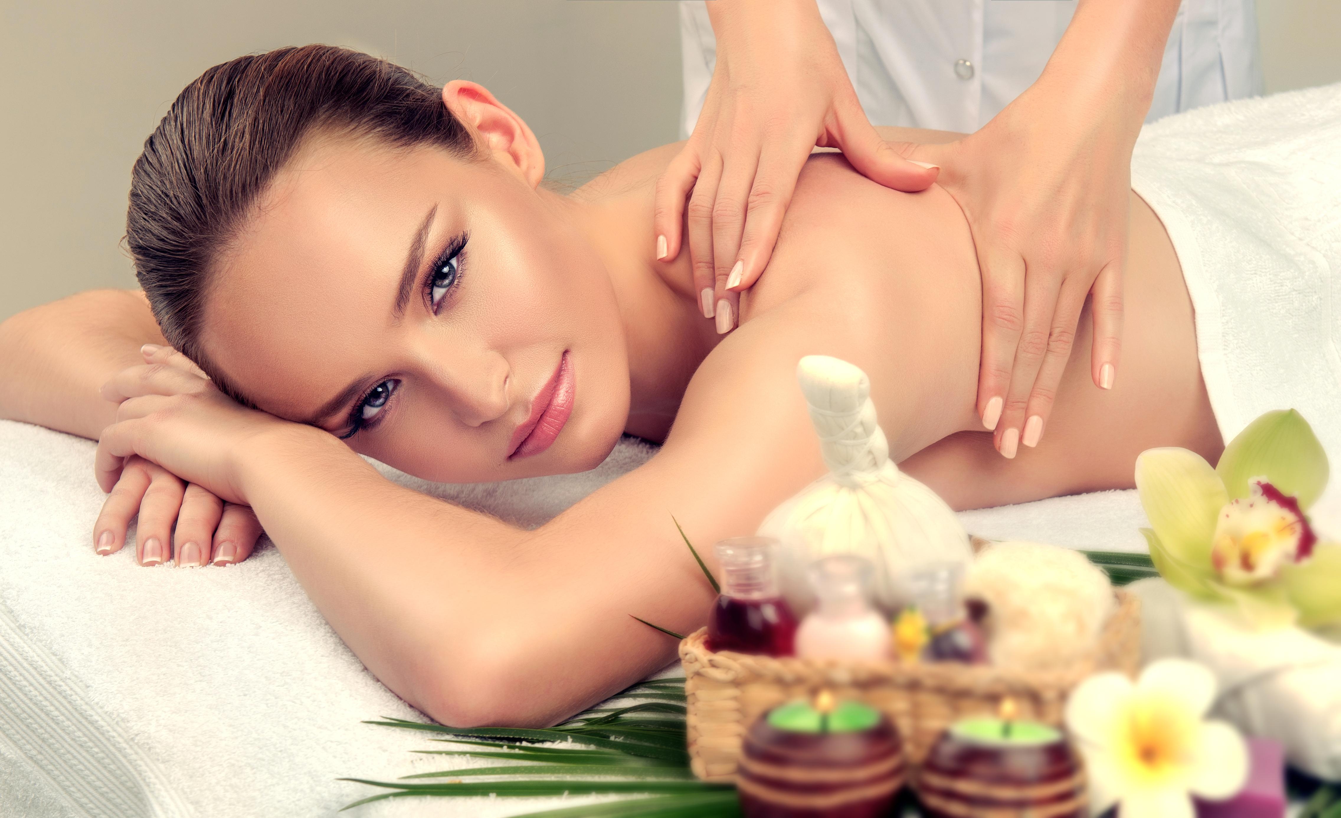 Massage and body ody care. Spa body massage treatment