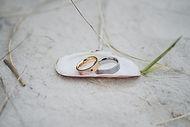 Trauringe Hochzeitsfotograf Hochzeitsfoto Hochzeitsreportage am Leuchtturm Sankt-Peter-Ording