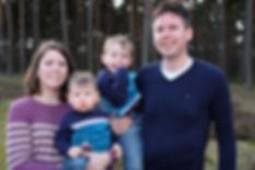 Famielenportrait Familienfoto Familienfotograf