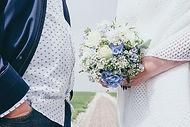 Brautstrauß Hochzeitsfotograf Hochzeitsfoto Hochzeitsreportage am Leuchtturm Westerheversand