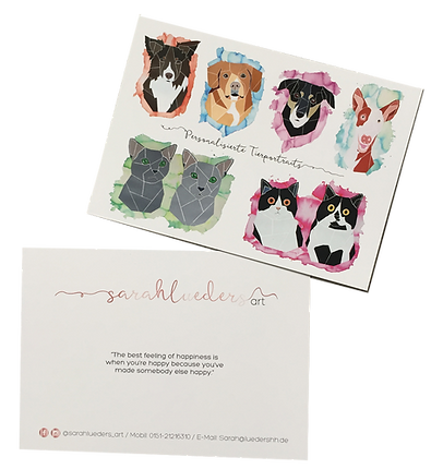 Sarah Lueders Art Tierprtrait Kontakt Pet Portrait Hundeportrait Katzenportrait