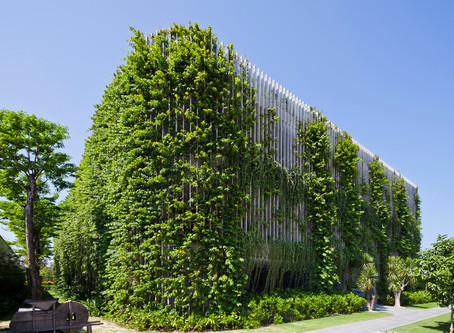 Architecture clad with Vegetation - Sustainable or not?
