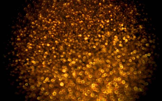 Goldener Sparkles