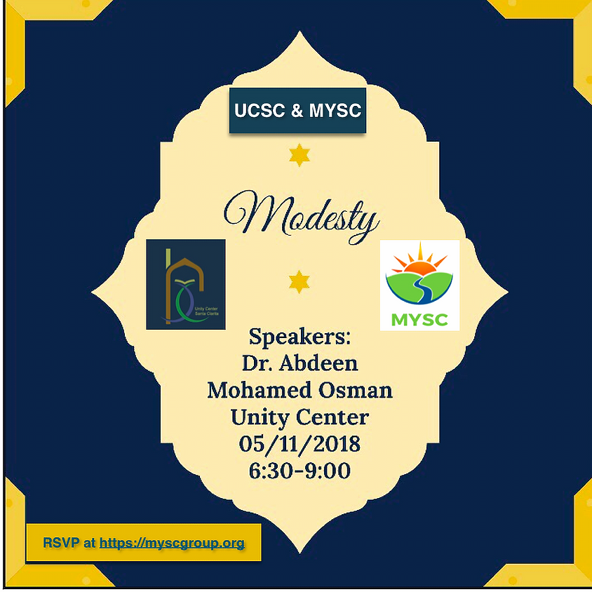 Modesty - Youth Educational Event