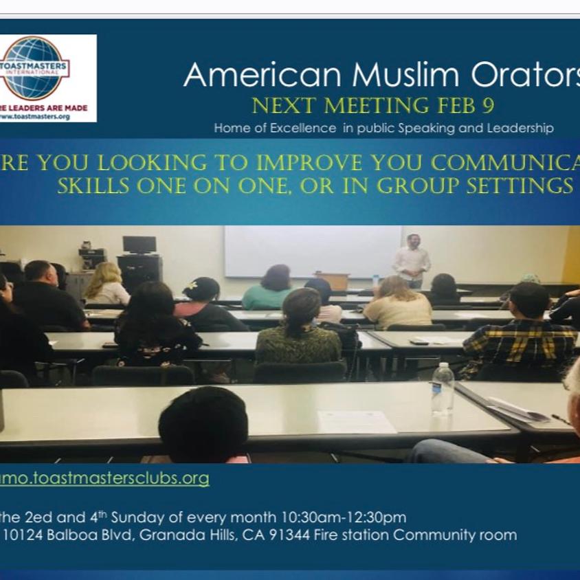 American Muslim Orators