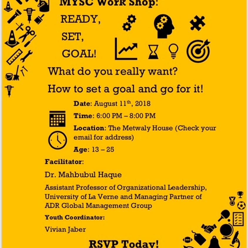Ready, Set, Goal! Workshop for MYSC Youth