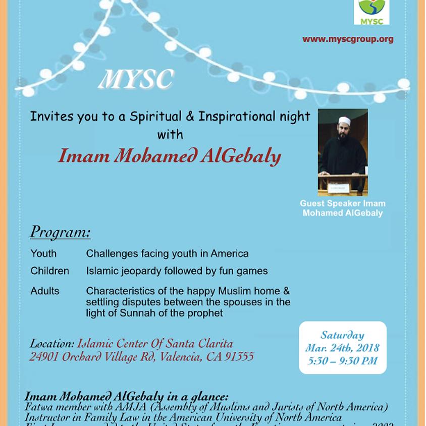 MYSC Family Night with Imam Mohamed AlGebaly