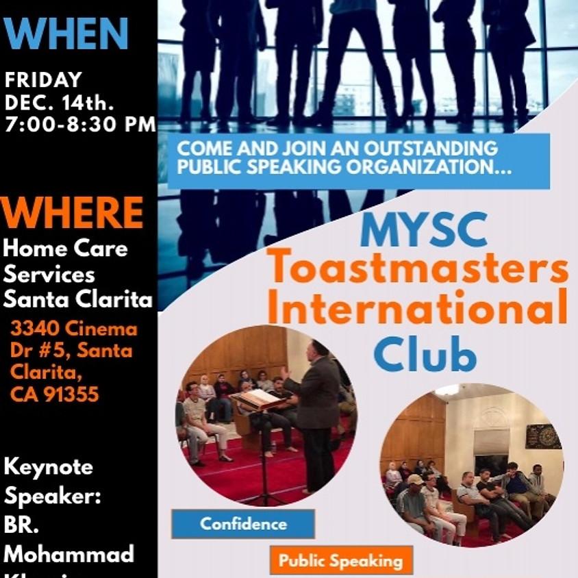 MYSC Toastmasters International Club