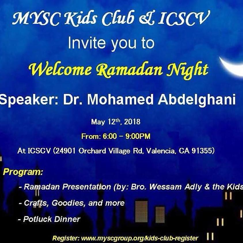 Welcome Ramadan Night - Families and Kids