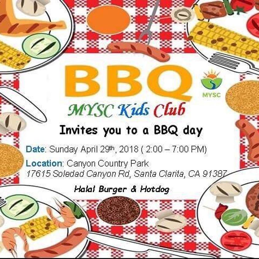 MYSC Kids' Club - BBQ at the Park
