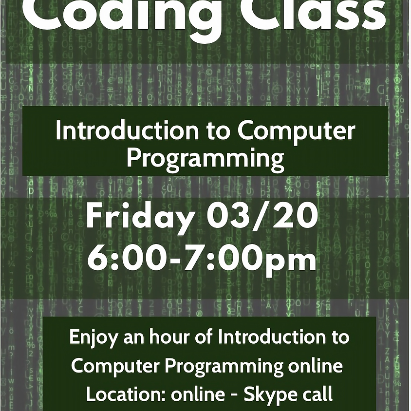 Introduction to  Programming Online