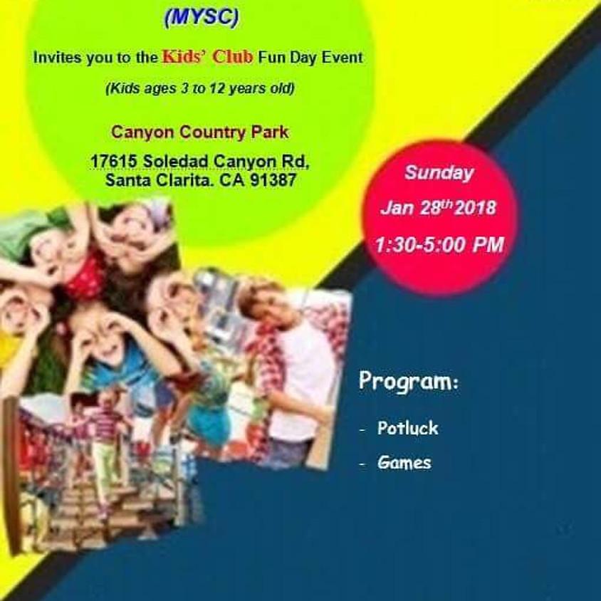 MYSC Kids' Club Picnic and Potluck